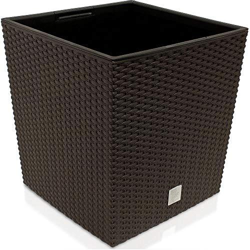 Prosperplast Blumentopf, braun, 40x40x40,8 cm, DRTS400L-440U