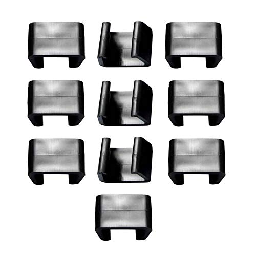 WERTAZ 10 Stück Starke Verbinder für Gartenmöbelset aus Polyrattan,Lounge Set Clips Klammern Outdoor Couch Patio Möbel