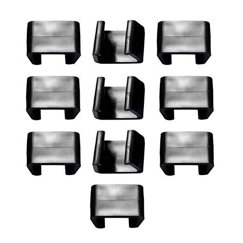 KOET Clips für Rattan-Möbeln, für den Außenbereich, 4,25 cm/5,25 cm/6 cm, 10 Stück